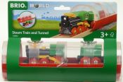 BRIO 33892 Steam Train and Tunnel